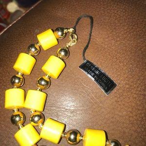 Genuine lucite necklace